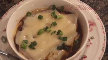 Hot Kitchen French Onion Soup Recipe Demonstration